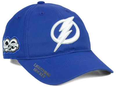 Tampa Bay Lightning adidas NHL 100th Celebration Relaxed Adjustable Cap