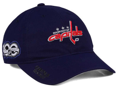 Washington Capitals adidas NHL 100th Celebration Relaxed Adjustable Cap
