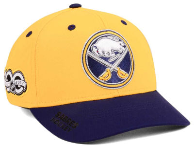 Buffalo Sabres adidas NHL 100th Celebration Structured Flex Cap