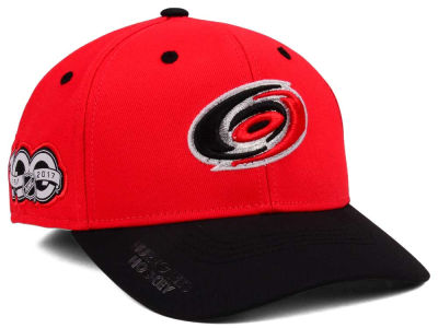Carolina Hurricanes adidas NHL 100th Celebration Structured Flex Cap