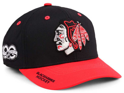 Chicago Blackhawks adidas NHL 100th Celebration Structured Flex Cap