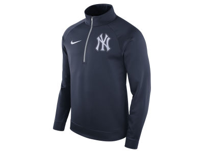 New York Yankees Nike MLB Men's Therma Half Zip Pullover