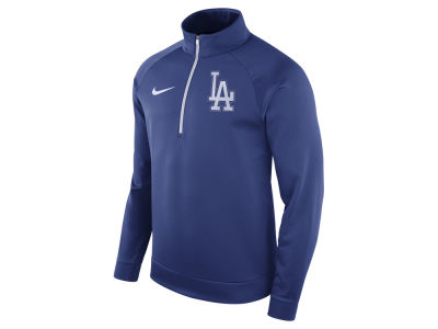 Los Angeles Dodgers Nike MLB Men's Therma Half Zip Pullover