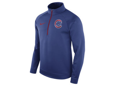 Chicago Cubs Nike MLB Men's Therma Half Zip Pullover
