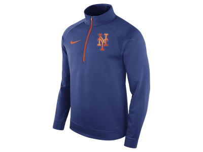 New York Mets Nike MLB Men's Therma Half Zip Pullover