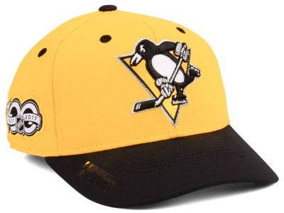 Pittsburgh Penguins adidas NHL 100th Celebration Structured Flex Cap