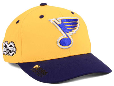 St. Louis Blues adidas NHL 100th Celebration Structured Flex Cap