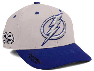 Tampa Bay Lightning adidas NHL 100th Celebration Structured Flex Cap
