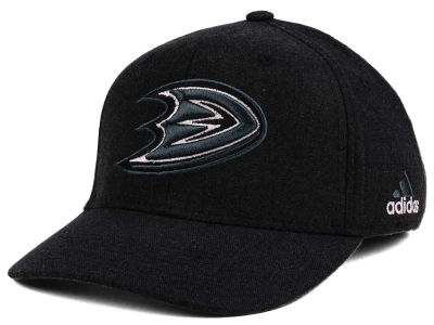 Anaheim Ducks adidas NHL Black Tonal 873 Flex Cap