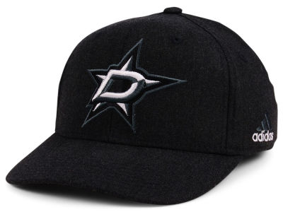 Dallas Stars adidas NHL Black Tonal 873 Flex Cap