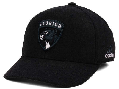 Florida Panthers adidas NHL Black Tonal 873 Flex Cap