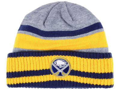 Buffalo Sabres adidas NHL Heathered Grey Beanie