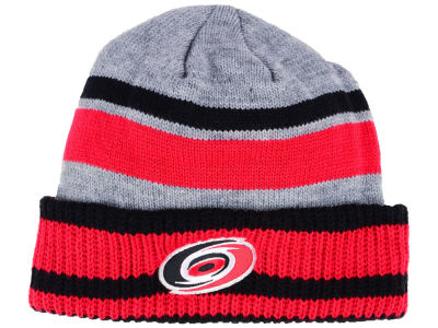 Carolina Hurricanes adidas NHL Heathered Grey Beanie