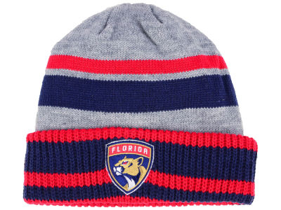 Florida Panthers adidas NHL Heathered Grey Beanie