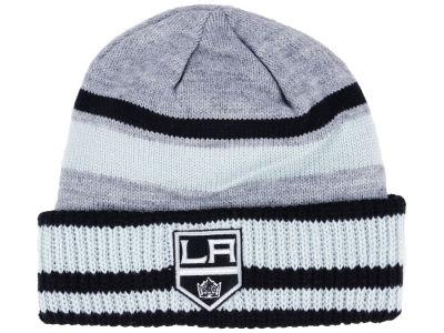 Los Angeles Kings adidas NHL Heathered Grey Beanie 8f4aed33376