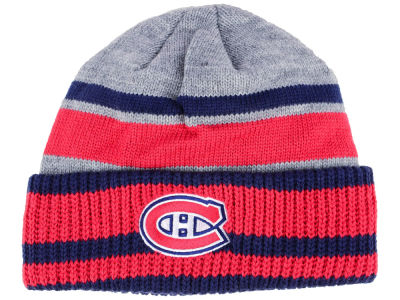 Montreal Canadiens adidas NHL Heathered Grey Beanie