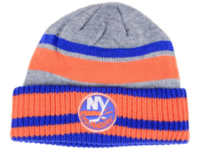 New York Islanders adidas NHL Heathered Grey Beanie