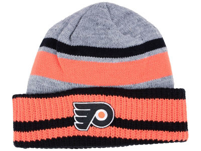Philadelphia Flyers adidas NHL Heathered Grey Beanie