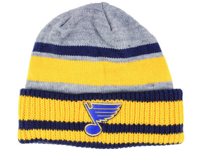 St. Louis Blues adidas NHL Heathered Grey Beanie