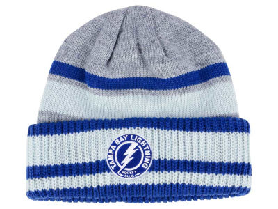 Tampa Bay Lightning adidas NHL Heathered Grey Beanie