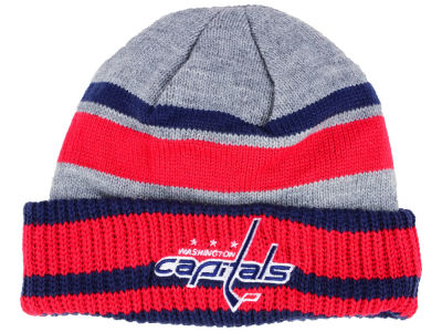 Washington Capitals adidas NHL Heathered Grey Beanie