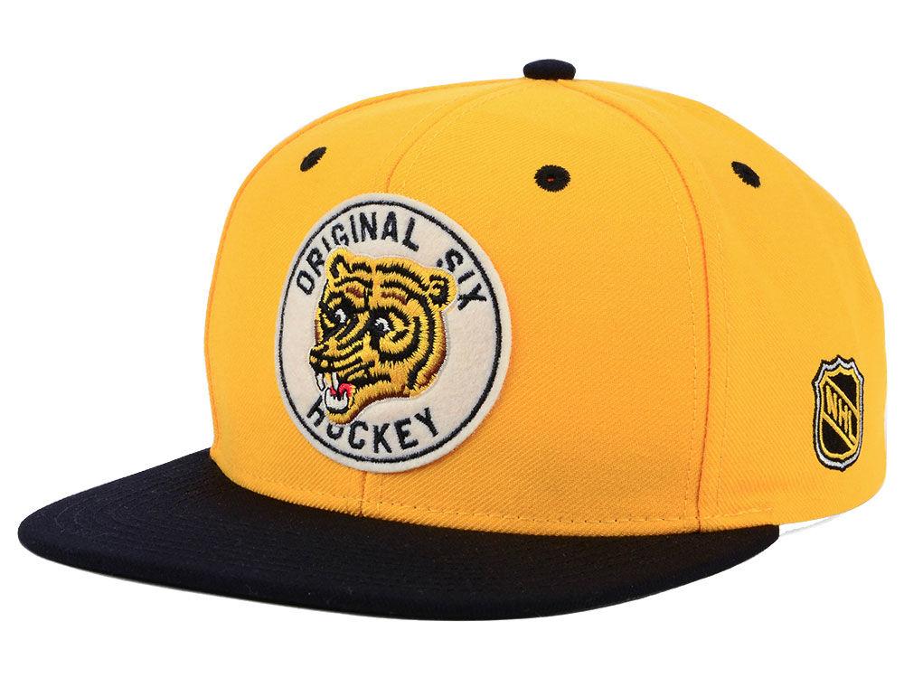 Boston Bruins adidas NHL Original Six Snapback Cap  34faec599342