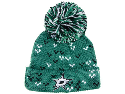 Dallas Stars adidas NHL Women's Cuffed Pom Knit