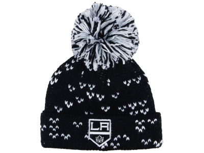Los Angeles Kings adidas NHL Women's Cuffed Pom Knit