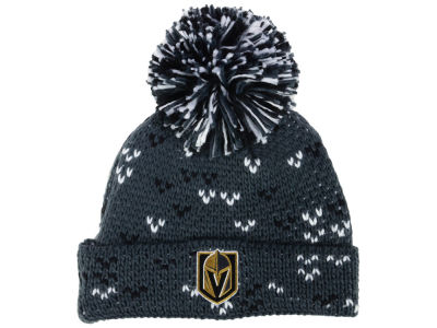 Vegas Golden Knights adidas NHL Women's Cuffed Pom Knit