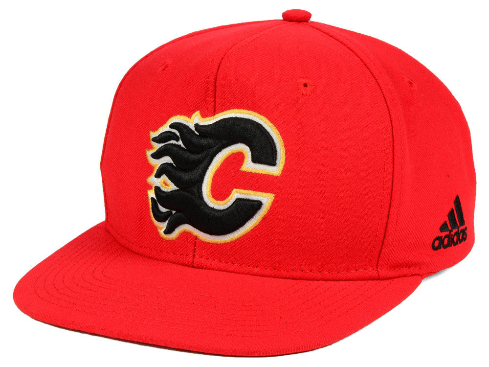 a24740243d1 reduced calgary flames reebok nhl face off mesh cap red white 4ed56 ...
