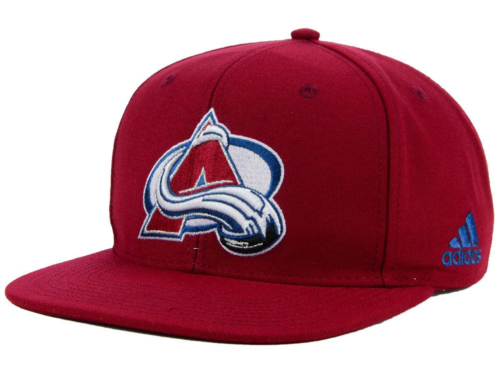 772c1883379 Colorado Avalanche adidas NHL Core Snapback Cap