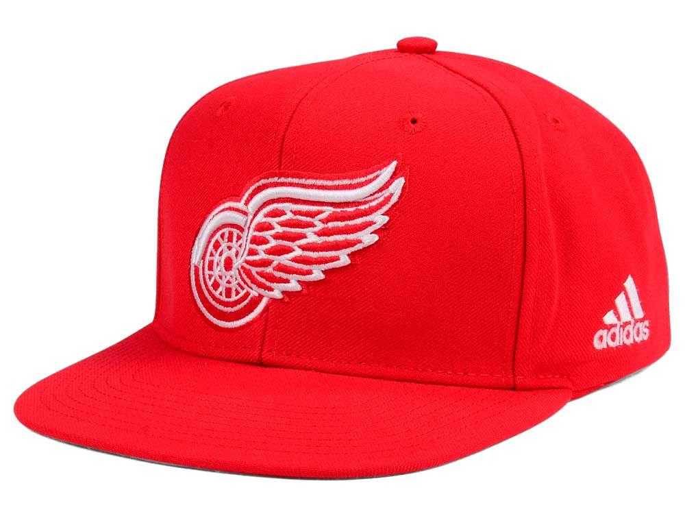 Detroit Red Wings adidas NHL Core Snapback Cap  d00f1d8df743