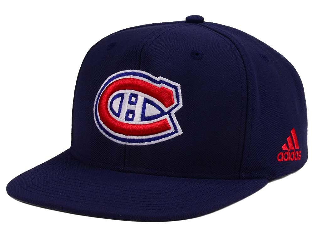 san francisco 50f01 dd51c ... new style montreal canadiens adidas nhl core snapback cap f89dd 75606
