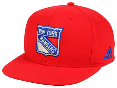 New York Rangers adidas NHL Core Snapback Cap