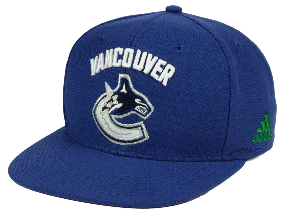 online store 1cfde b2eca ... best price vancouver canucks adidas nhl core snapback cap 33330 39ef1