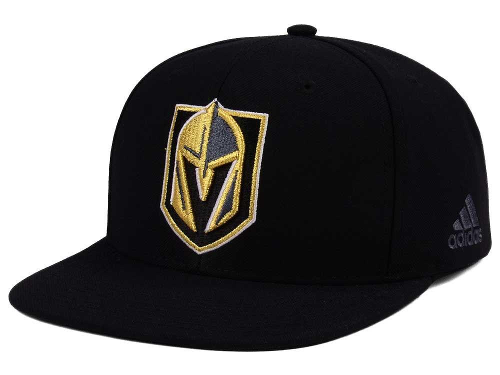 Vegas Golden Knights adidas NHL Core Snapback Cap  0e682373bca