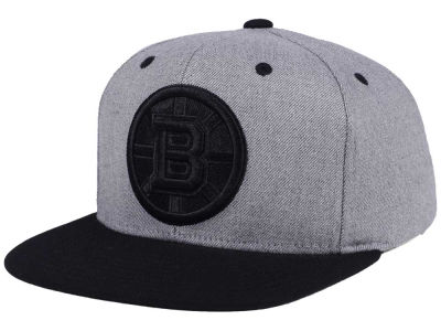Boston Bruins adidas NHL 2 Tone Tonal Snapback Cap