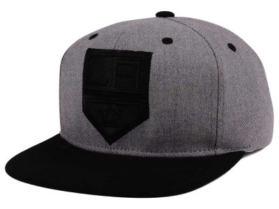 Los Angeles Kings adidas NHL 2 Tone Tonal Snapback Cap