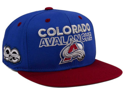 Colorado Avalanche adidas NHL 100th Celebration Snapback Cap