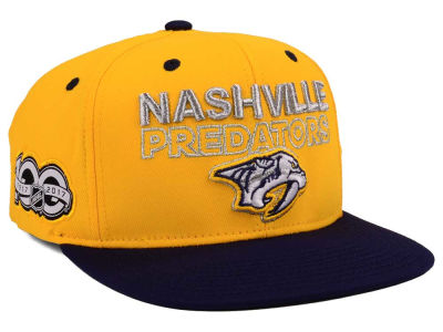 Nashville Predators adidas NHL 100th Celebration Snapback Cap