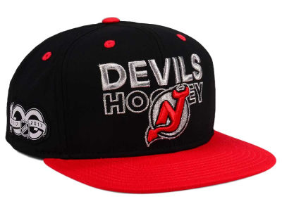 New Jersey Devils adidas NHL 100th Celebration Snapback Cap
