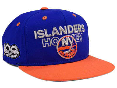 New York Islanders adidas NHL 100th Celebration Snapback Cap