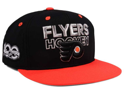 Philadelphia Flyers adidas NHL 100th Celebration Snapback Cap