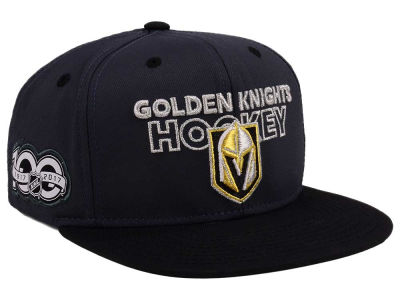 Vegas Golden Knights adidas NHL 100th Celebration Snapback Cap