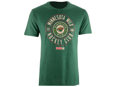 Minnesota Wild CCM NHL Men's Wheelhouse T-shirt