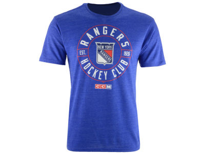 New York Rangers CCM NHL Men's Wheelhouse T-shirt