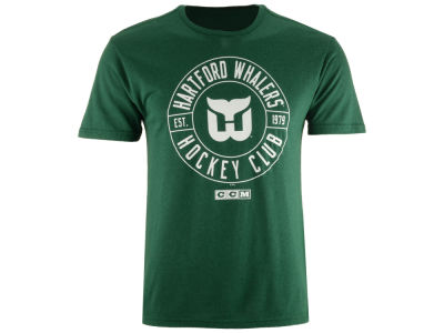Hartford Whalers CCM NHL Men's Wheelhouse T-shirt