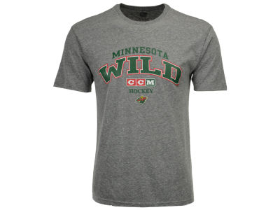 Minnesota Wild CCM NHL Men's Practice Tri-blend T-shirt