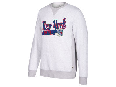 New York Rangers CCM NHL Men's Pennant Crew Sweatshirt