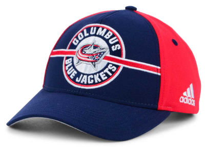 Columbus Blue Jackets adidas NHL Circle Adjustable Cap